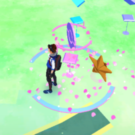 Staryu is Lured
