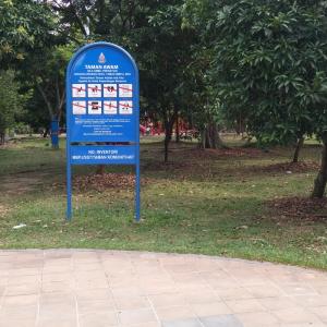 Taman Awam Signage
