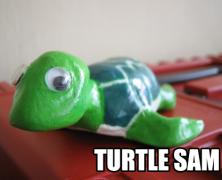 Paper Clay Turtle Sam