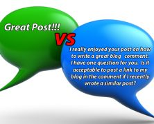 Culture of Blog Comment