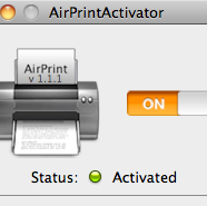 Get AirPrint to Work on Mac Lion