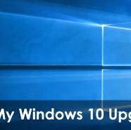 My Windows 10 Upgrade Story