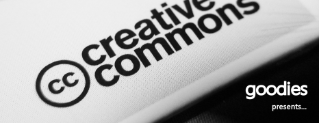 Creative Commons Goodies Launched!